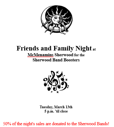 McMenamins Friends and Family Night 03.13.18