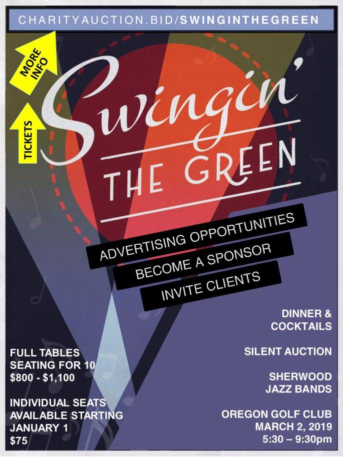 swingin' the green 2019
